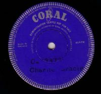 Charlie Gracie/Dee Clark Demo - Angel Of Love/Just Keep It Up